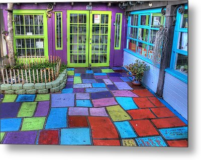 Spanish Village Art Center Metal Print