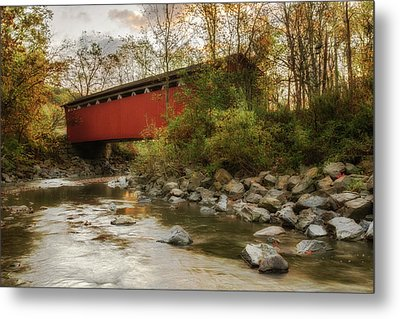 Metal Print featuring the photograph Spanning Across The Stream by Dale Kincaid