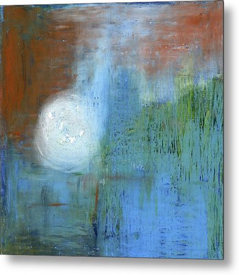 Metal Print featuring the painting Sparkling Sun-rays by Michal Mitak Mahgerefteh
