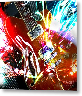 Metal Print featuring the photograph Sparks Fly by LemonArt Photography