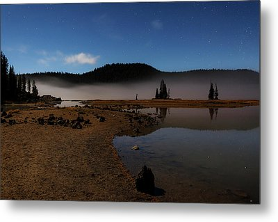Metal Print featuring the photograph Sparks Lake At Dawn by Cat Connor