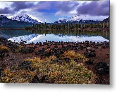 Metal Print featuring the photograph Sparks Lake by Cat Connor