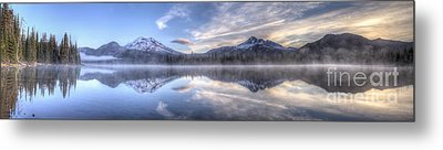Sparks Lake Splendor Metal Print by Twenty Two North Photography