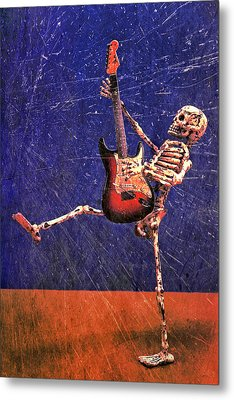 Sparky Metal Print by Jeff Gettis