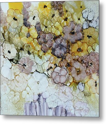 Metal Print featuring the painting Spash Of Sunshine by Joanne Smoley