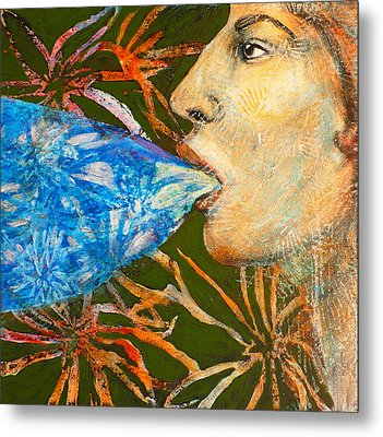 Speaking Out No More Puritans Metal Print by Sue Reed