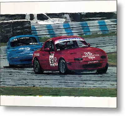 Spec Miata 1 Metal Print by James Haas