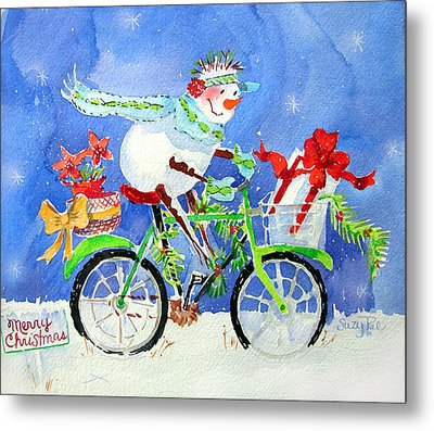 Special Delivery Metal Print by Suzy Pal Powell