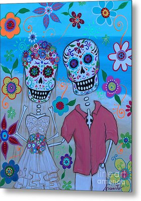 Special Mexican Wedding Metal Print