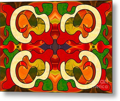 Specialized Suggestions Abstract Art By Omashte Metal Print by Omaste Witkowski