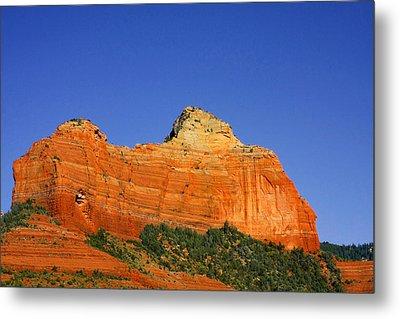 Spectacular Red Rocks - Sedona Az Metal Print by Christine Till