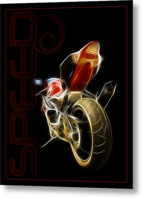 Speed Metal Print by Ricky Barnard