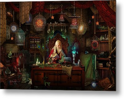 Spellbound Metal Print by Cassiopeia Art