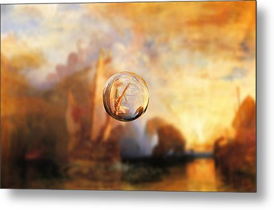 Sphere 11 Turner Metal Print