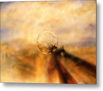 Sphere 8 Turner Metal Print