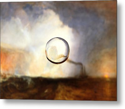 Sphere I Turner Metal Print