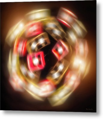 Sphere Of Light Metal Print