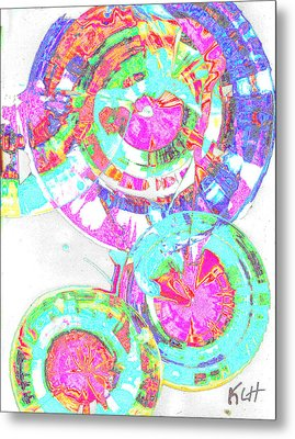 Sphere Series 965.030812vsscinvx3fddfx3 Metal Print by Kris Haas