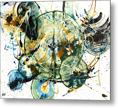 Spherical Joy Series 170.171.011011 Metal Print by Kris Haas