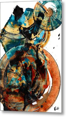 Spherical Joy Series 208.012011 Metal Print by Kris Haas