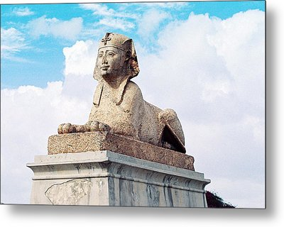 Metal Print featuring the photograph Sphinx by Cassandra Buckley