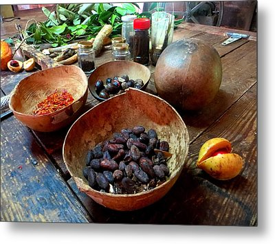 Metal Print featuring the photograph Spice Of Life by Jean Marie Maggi
