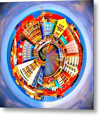 Spin City Metal Print by Kathy Kelly