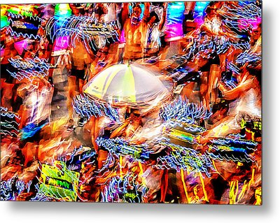 Prance Party Metal Print by Az Jackson