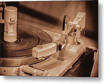 Spin Metal Print