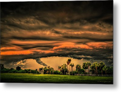 Spin-up Metal Print by Marvin Spates