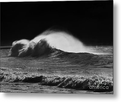 Spindrift Metal Print by Mike  Dawson