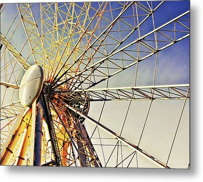 Spinning High Metal Print