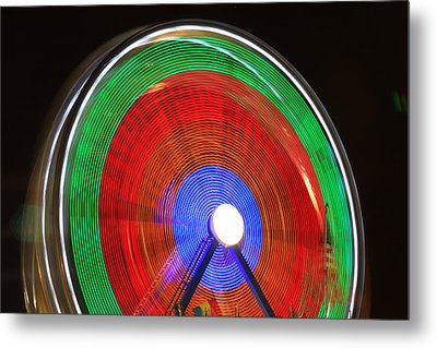 Spinning Wheels Metal Print by James BO  Insogna