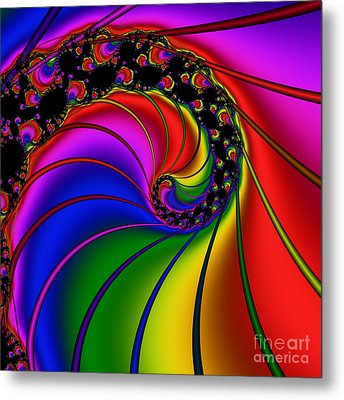 Spiral 124 Metal Print by Rolf Bertram