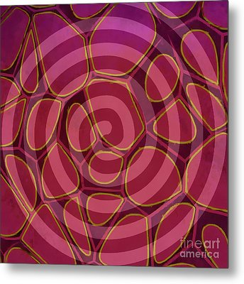 Spiral 2 - Abstract Painting Metal Print by Edward Fielding
