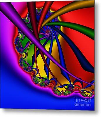 Spiral 217 Metal Print by Rolf Bertram