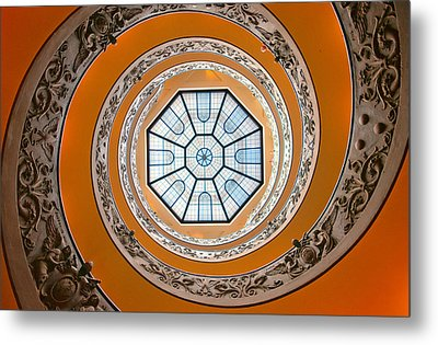 Metal Print featuring the photograph Spiral by Brian Bonham
