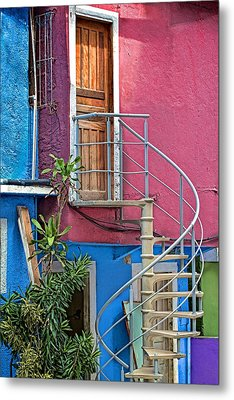 Metal Print featuring the photograph Spiral Entry by Kim Wilson