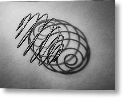 Spiral Shape And Form Metal Print