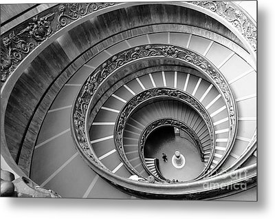 Spiral Staircase Metal Print by Floyd Menezes