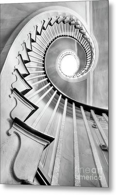 Spiral Staircase Lowndes Grove  Metal Print by Dustin K Ryan