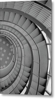 Metal Print featuring the photograph Spiraling Down  by Tara Lynn