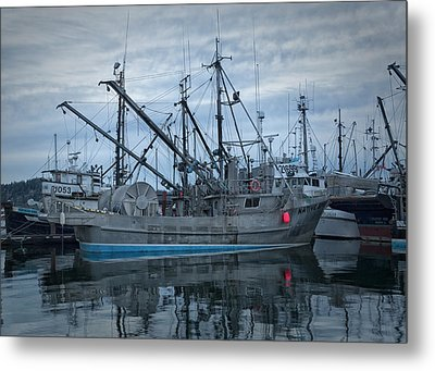 Metal Print featuring the photograph Spirit At Rest by Randy Hall