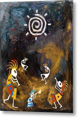 Spirit Dance Metal Print by Paul Tokarski