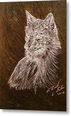 Spirit Fox  Metal Print by Rick Silas