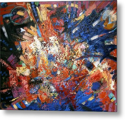 Metal Print featuring the painting Spirit by Gary Coleman