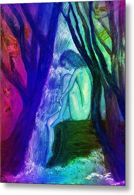 Spirit Guides II Metal Print by Patricia Motley