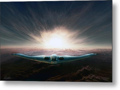 Spirit In The Sky Metal Print by Peter Chilelli