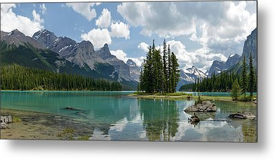 Spirit Island And The Hall Of The Gods Metal Print