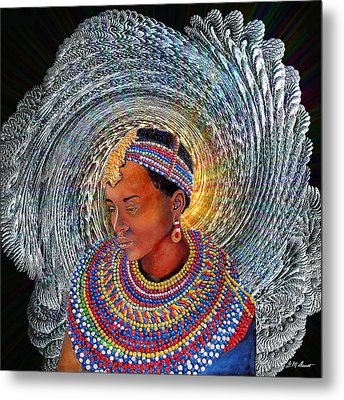 Spirit Of Africa Metal Print by Michael Durst